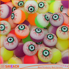 diameter 30mm rubber halloween eye ball spooky candy eyeballs hi