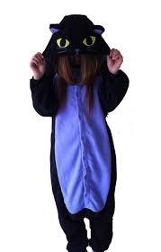 halloween onesie pour homme femme adulte unisexe minuit de chat anime animaux