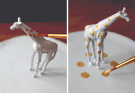 golden giraffe ring holder images Diy ring dish jpg