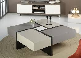 modern end table with drawer contemporary coffee table with storage modern multifunctional