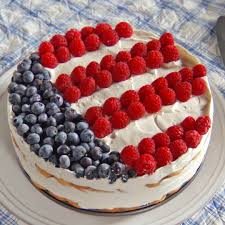 Flag Cakes Independence Icebox Cake Recipe U0026 Video Martha Stewart