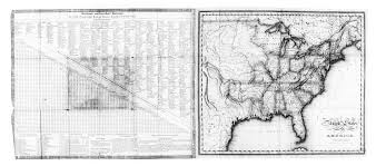 Black And White United States Map Digital History