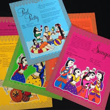 creative indian wedding invitations what are some of the most creative indian wedding cards quora