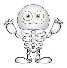 Cute Halloween Vector Spooky Cute Skeleton Vector Halloween Vector Illustration