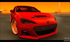 subaru brz custom subaru brz for gta san andreas