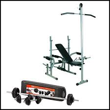Weight Bench With Barbell Set Special Offer Weight Bench Sg308a 50kg Dumbbell U0026 Barbell Set