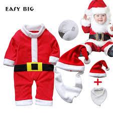 santa claus suits easy big new baby boy girl christmas clothing sets baby