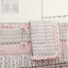 Pink Chevron Crib Bedding Grey Pink Chevron Dot Crib Bedding Baby Bedding Set Sweet Baby