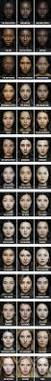 color palettes around the world overlays portraits and