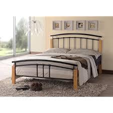 tetras 4ft silver beech small double bed frame amazon co uk