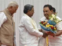 layout krishnappa house krishnappa sworn in as cabinet minister the hindu
