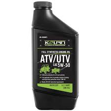 5w 50 full synthetic atv utv engine oil kolpin