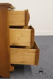 Ethan Allen Corner Desk by High End Used Furniture Sumter Cabinet 44 U2033 Four Drawer Student Desk