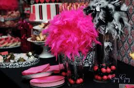 cosy pink and black birthday party decorations simple home remodel