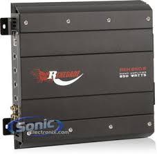 800w complete rockford fosgate p2 sub renegade amp amp kit