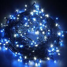 24v 250 leds 50m 164 white blue string lights lighting