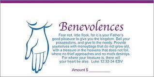 dollar check size benevolence offering envelope