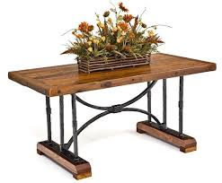 rustic metal and wood dining table charming metal dining table base furniture rustic wood tables wood