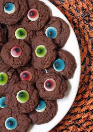chocolate gummy eyeball cookies festibrate