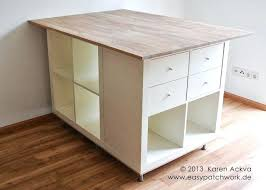 installing a kitchen island ikea hackers customized sewing room cutting table picmia