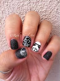 star wars nails may the 4th be with you nailart ruthsnailart