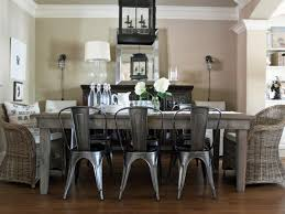 Distressed Wood Home Decor Dining Room Distressed Wood Dining Table Set On Dining Room Within
