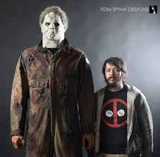 michael myers costume ii sized michael myers display tom spina designs