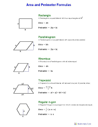 Free Printable Perimeter And Area Worksheets 34 Best Area Of Polygons Images On Maths Geometry And