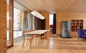 wood interior homes simple wooden interior from zumthor vacation home designoursign