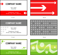company cards business card exles view free sles of company cards