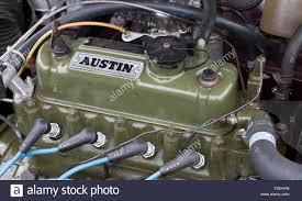 classic bmc austin mini a series engine stock photo royalty free