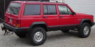 red jeep cherokee red jeep club lifted red jeep pictures bumper hoop grille guards 4x4