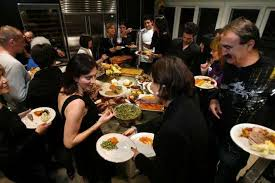 thanksgiving entertaining tips buffet psychology 101 la times