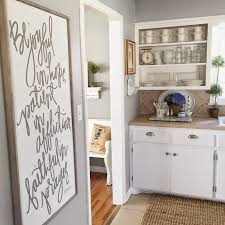 kitchen wall color ideas with gray cabinets remodelaholic color spotlight benjamin coventry gray