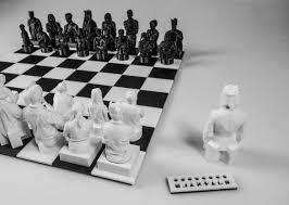 Diy Chess Set Diy Kinect Scan Chess Set