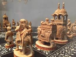 an amazing indian ivory chess set norton simon picture of