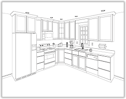 kitchen fascinating kitchen cabinet layout for home custom