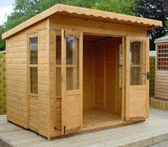 Summer House For Small Garden - small wooden sheds wood small wood buildings ideas for home