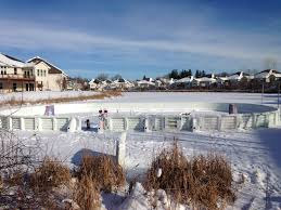 how to build a backyard ice rink sport resource group