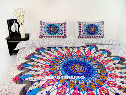 trippy comforters bedcover hippie tapestry mandala bohemian pink multi trippy ombre queen bohemian mandala bedding duvet cover set with trippy comforters