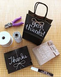 chalk wrapping paper how to gift wrap using chalk markers