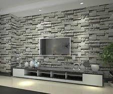 3d effect brick stone wallpaper for interior designs creative