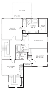 First Floor Master Bedroom Floor Plans by Click For The First Floor Of This Floor Plan Gensmart Suite