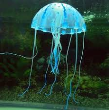 jellyfish ornaments for your fish tank their legs move around