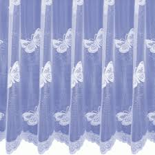 Butterfly Lace Curtains Filigree