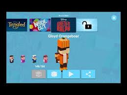 gloyd orangeboar wreck ralph disney crossy road secret
