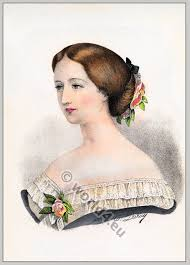 women of france hair styles album of historical hairstyles album de coiffures histories par e