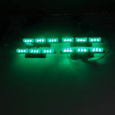 warning recovery vehicle beacon white blue green
