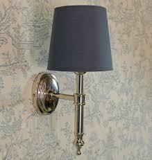 bowley u0026 jackson french aluminium oval wall light with linen grey