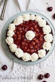no bake black forest cherry cheesecake valentina u0027s corner